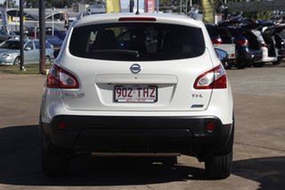 2013 Nissan Dualis J10W Series 4 MY13 Ti-L Hatch X-tronic 2WD White 6 Speed Constant Variable
