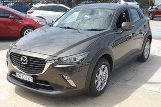 2016 Mazda CX-3 DK2W7A Maxx SKYACTIV-Drive Grey 6 Speed Sports Automatic Wagon.