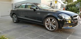 2015 Mercedes-Benz CLS400 218 MY15 Black 7 Speed Automatic G-Tronic Coupe