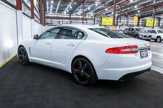 2013 Jaguar XF X250 MY13 Luxury White 8 Speed Sports Automatic Sedan