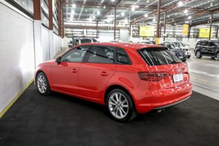 2016 Audi A3 8V MY16 Attraction Sportback S Tronic Red 7 Speed Sports Automatic Dual Clutch