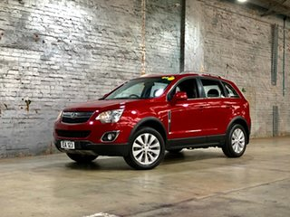 2015 Holden Captiva CG MY15 5 LT Red 6 Speed Sports Automatic Wagon.