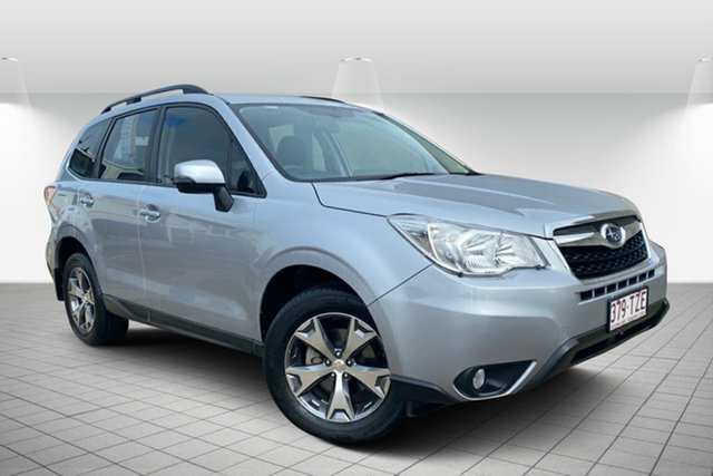 Used Subaru Forester S4 MY14 2.5i Lineartronic AWD Luxury Hervey Bay, 2014 Subaru Forester S4 MY14 2.5i Lineartronic AWD Luxury Silver 6 Speed Constant Variable Wagon