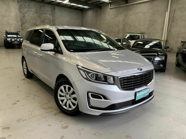 Used Kia Carnival YP MY19 S Coburg North, 2018 Kia Carnival YP MY19 S Silver 8 Speed Sports Automatic Wagon