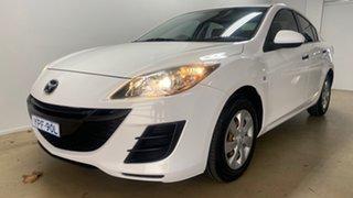 2011 Mazda 3 BL 10 Upgrade Neo White 6 Speed Manual Sedan