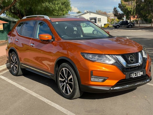 Used Nissan X-Trail T32 Series II Ti X-tronic 4WD Nailsworth, 2019 Nissan X-Trail T32 Series II Ti X-tronic 4WD Orange 7 Speed Constant Variable Wagon