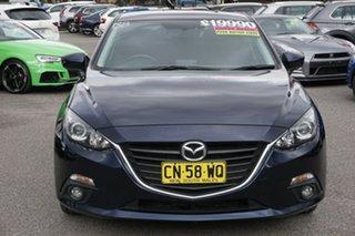 2015 Mazda 3 BM5438 SP25 SKYACTIV-Drive Blue 6 Speed Sports Automatic Hatchback.