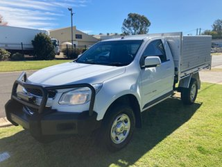 2016 Holden Colorado RG MY16 LS (4x4) White 6 Speed Automatic Cab Chassis