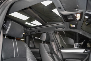 2016 BMW X3 F25 LCI xDrive20d Steptronic Black Sapphire 8 Speed Automatic Wagon