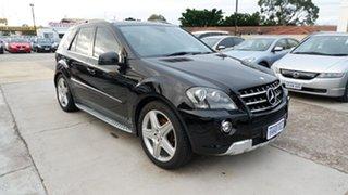 2011 Mercedes-Benz M-Class W164 MY10 ML350 CDI BlueEFFICIENCY Black 7 Speed Sports Automatic Wagon.