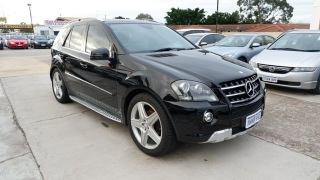Used Mercedes-Benz M-Class W164 MY10 ML350 CDI BlueEFFICIENCY St James, 2011 Mercedes-Benz M-Class W164 MY10 ML350 CDI BlueEFFICIENCY Black 7 Speed Sports Automatic Wagon