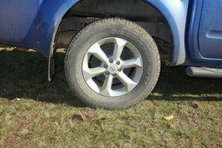 2012 Nissan Navara D40 S5 MY12 ST-X Blue 7 Speed Sports Automatic Utility