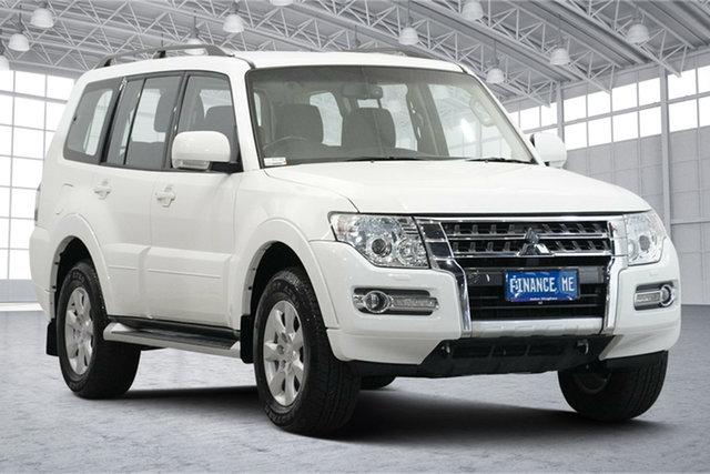 Used Mitsubishi Pajero NX MY20 GLX Victoria Park, 2019 Mitsubishi Pajero NX MY20 GLX White 5 Speed Sports Automatic Wagon
