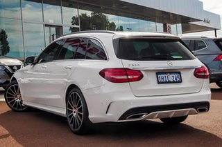 2016 Mercedes-Benz C-Class S205 807+057MY C200 Estate 9G-Tronic White 9 Speed Sports Automatic Wagon.