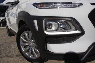 2020 Hyundai Kona Go 2WD Chalk White 6 Speed Sports Automatic Wagon.