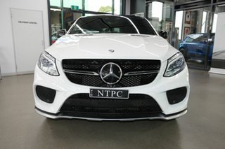 2016 Mercedes-Benz GLE-Class C292 GLE450 AMG Coupe 9G-Tronic 4MATIC White 9 Speed Sports Automatic