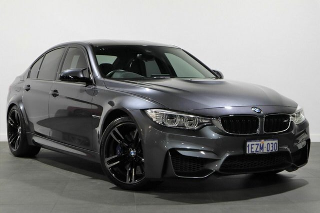 Used BMW M3 F80 LCI M-DCT Bayswater, 2016 BMW M3 F80 LCI M-DCT Grey 7 Speed Sports Automatic Dual Clutch Sedan