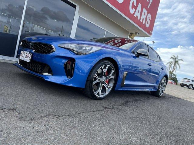Used Kia Stinger CK MY20 GT Fastback Bundaberg, 2019 Kia Stinger CK MY20 GT Fastback Blue 8 Speed Sports Automatic Sedan