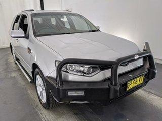 2012 Ford Territory SZ TX Seq Sport Shift Silver 6 Speed Sports Automatic Wagon.