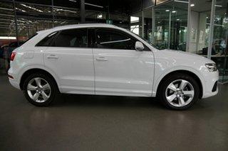 2015 Audi Q3 8U MY15 TDI S Tronic Quattro Sport White 7 Speed Sports Automatic Dual Clutch Wagon
