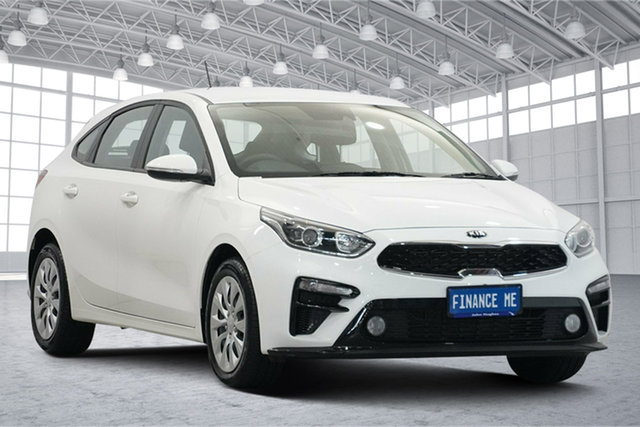 Used Kia Cerato BD MY21 S Victoria Park, 2020 Kia Cerato BD MY21 S Clear White 6 Speed Sports Automatic Hatchback
