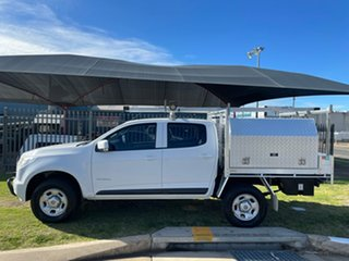 2016 Holden Colorado RG MY16 LS (4x2) White 6 Speed Automatic Crew Cab Chassis.