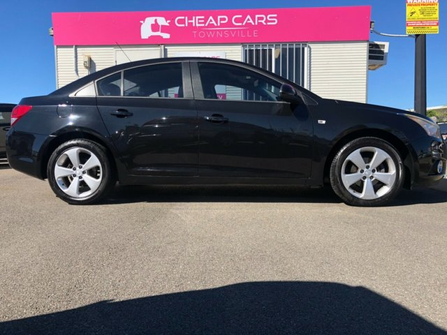Used Holden Cruze JH Series II MY14 Equipe Garbutt, 2014 Holden Cruze JH Series II MY14 Equipe Black 6 Speed Sports Automatic Sedan