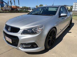 2014 Holden Ute VF MY14 SV6 Ute Storm Silver/260614 6 Speed Manual Utility