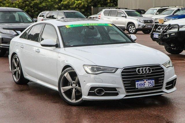 Used Audi A6 4G MY16 S Line S Tronic Cannington, 2016 Audi A6 4G MY16 S Line S Tronic White 7 Speed Sports Automatic Dual Clutch Sedan