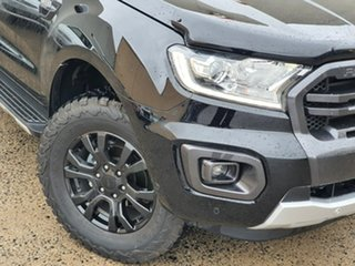 2019 Ford Ranger PX MkIII 2019.75MY Wildtrak Black 6 Speed Sports Automatic Double Cab Pick Up.