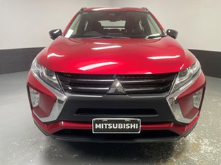 2018 Mitsubishi Eclipse Cross YA MY18 ES 2WD Red 8 Speed Constant Variable Wagon.
