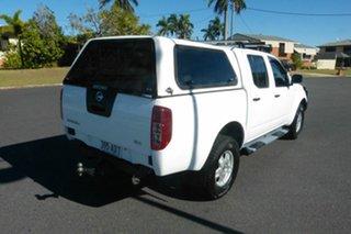 2011 Nissan Navara D40 S6 MY12 RX White 6 Speed Manual Utility.
