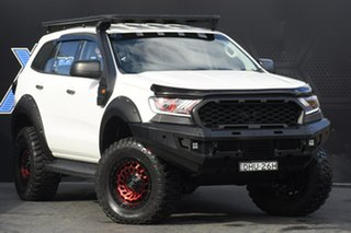 2015 Ford Everest UA Ambiente White 6 Speed Sports Automatic SUV.
