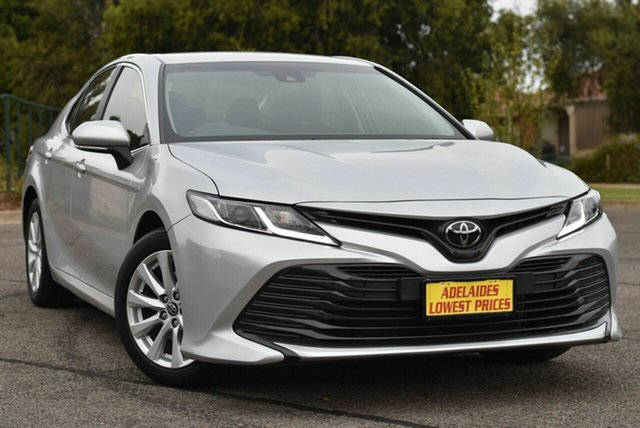 Used Toyota Camry ASV70R Ascent Enfield, 2018 Toyota Camry ASV70R Ascent Silver 6 Speed Sports Automatic Sedan