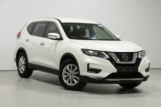 2017 Nissan X-Trail T32 Series 2 ST (2WD) White Continuous Variable Wagon.