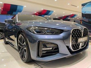 2020 BMW 4 Series G22 430i Steptronic M Sport Arctic Race Blue Metallic 8 Speed Sports Automatic.