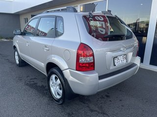 2008 Hyundai Tucson JM MY07 City SX Silver 5 Speed Manual Wagon