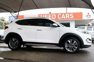2017 Hyundai Tucson TLe MY17 Elite 2WD White 6 Speed Sports Automatic Wagon.