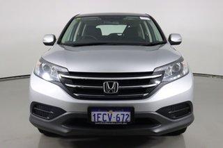 2013 Honda CR-V 30 VTi (4x2) Silver 5 Speed Automatic Wagon.