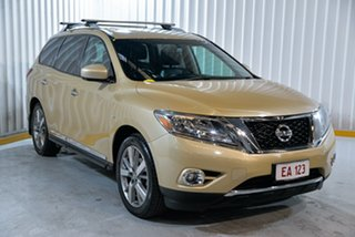 2013 Nissan Pathfinder R52 MY14 Ti X-tronic 4WD Gold 1 Speed Constant Variable Wagon
