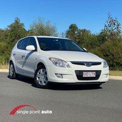 2009 Hyundai i30 FD MY09 SX White 5 Speed Manual Hatchback.