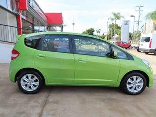 2013 Honda Jazz GE MY12 Vibe Green 5 Speed Automatic Hatchback.
