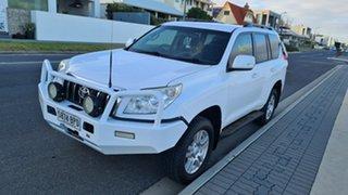 2012 Toyota Landcruiser Prado KDJ150R 11 Upgrade GXL (4x4) White 6 Speed Manual Wagon
