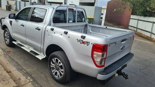 2011 Ford Ranger PX XL 2.2 (4x4) Silver 6 Speed Automatic Crew Cab Utility