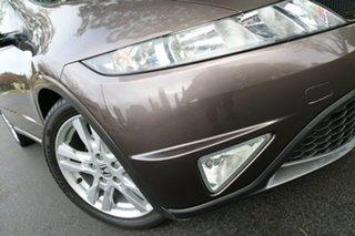 2011 Honda Civic 8th Gen MY11 SI Bronze 5 Speed Automatic Hatchback.