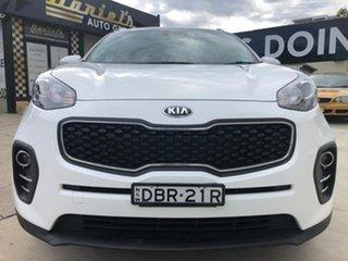 2016 Kia Sportage SI Clear White Sports Automatic Wagon