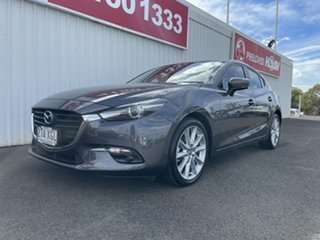 2017 Mazda 3 BN5438 SP25 SKYACTIV-Drive Grey 6 Speed Sports Automatic Hatchback