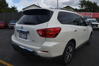 2018 Nissan Pathfinder R52 Series II MY17 ST X-tronic 2WD White 1 Speed Constant Variable Wagon