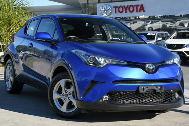 Pre-Owned Toyota C-HR NGX10R S-CVT 2WD North Lakes, 2019 Toyota C-HR NGX10R S-CVT 2WD Nebula Blue 7 Speed Constant Variable Wagon