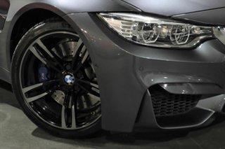 2016 BMW M3 F80 LCI M-DCT Grey 7 Speed Sports Automatic Dual Clutch Sedan.